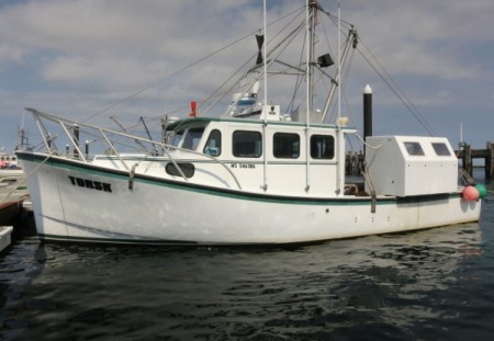 F/V Torsk, by David W. Dunlap (2014).