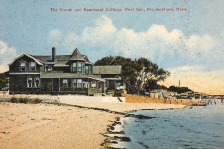 Sandhurst Cottage, from the Pilgrim Monument and Provincetown Museum.