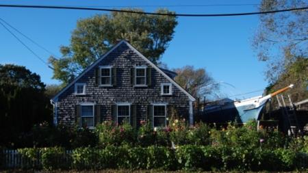 1 Duncan Lane, Provincetown (2012), by David W. Dunlap.
