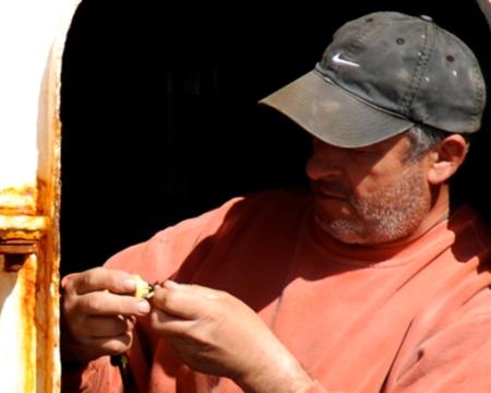Capt. Manuel Diaz of the Antonio Jorge, Provincetown (2010), by David W. Dunlap.