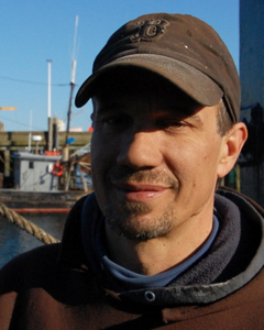 Capt. Jeff Richardson of the Sentinel, Provincetown (2011), by David W. Dunlap.