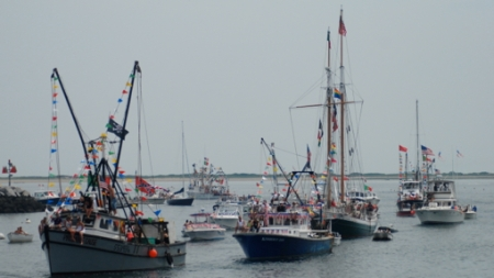Blessing of the Fleet, Provincetown (2011), by David W. Dunlap.