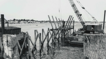 MacMillan Wharf, Provincetown (1987). J. L. Marshall & Sons. Courtesy of the Provincetown History Preservation Project (Municipal Collection).