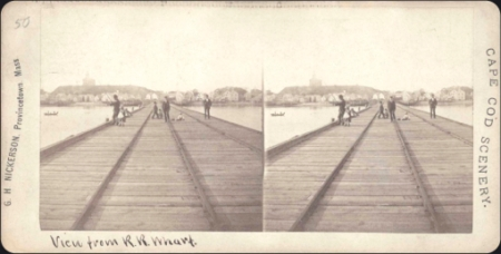 Railroad Wharf, Provincetown. Scrapbooks of Althea Boxell: Book 1, Page 88. Courtesy of the Provincetown History Preservation Project (Dowd Collection).