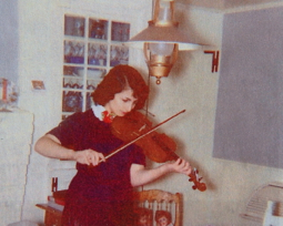 """Jessica Lema (1959). From """"Nana and Poppy: A Provincetown Love Story,"""" by Jessica Grace Lema and Jessica Lema Clark. Courtesy of Jessica Lema Clark and Elizabeth Lema Perrillo."""