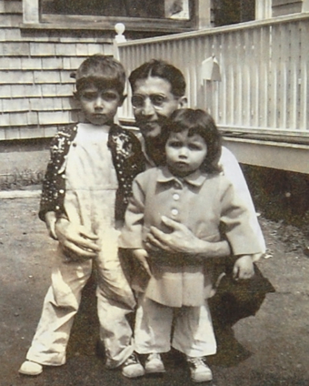 """Joseph Anthony, Joseph Jr. and Elizabeth Lema. From """"Nana and Poppy: A Provincetown Love Story,"""" by Jessica Grace Lema and Jessica Lema Clark. Courtesy of Jessica Lema Clark and Elizabeth Lema Perrillo."""