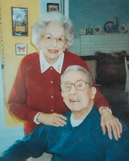 "Jessica and Joseph Lema. From ""Nana and Poppy: A Provincetown Love Story,"" by Jessica Grace Lema and Jessica Lema Clark. Courtesy of Jessica Lema Clark and Elizabeth Lema Perrillo."