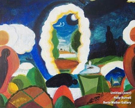 """Untitled,"" by Polly Burnell (2007). Berta Walker Gallery."