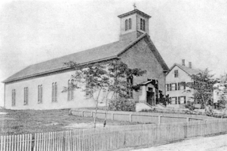 """11 Prince Street, Provincetown (1889). """"A History of St. Peter's Church, Provincetown, 1874-1949."""""""