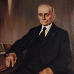 Portrait of Frank A. Days Jr., 12 Winslow Street, Provincetown (2010), by David W. Dunlap.