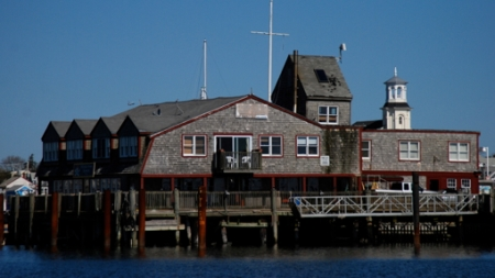 16 MacMillan Wharf, Provincetown (2010), by David W. Dunlap.