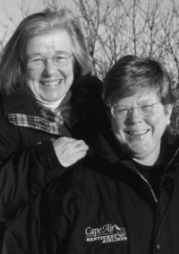 Gwen Bloomingdale and Barbara Gard, from The Provincetown Banner.