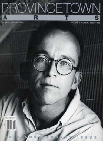 Mark Doty, by Renate Ponsold. Copyright © 1994 by Provincetown Arts Inc.