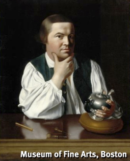 """Paul Revere,"" by John Singleton Copley (1768). Museum of Fine Arts, Boston. Accession No. 30.781."
