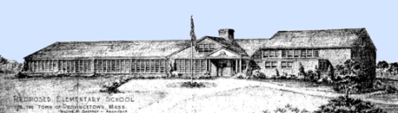 """Proposed Elementary School for the Town of Provincetown, Mass.,"" by Walter M. Gaffney (1952)."