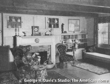 200 Bradford Street (George H. Davis's Studio, 1937), from The American Home, January 1937