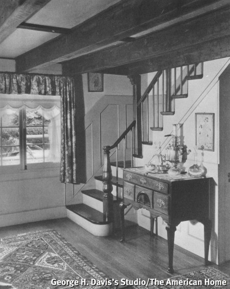 200 Bradford Street (George H. Davis's Studio, 1937), from The American Home, January 1937