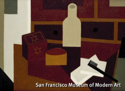 """The Desk"" (1948), by Niles Spencer. San Francisco Museum of Modern Art."