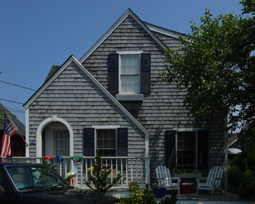 3 Atlantic Avenue, Provincetown (2009), by David W. Dunlap.
