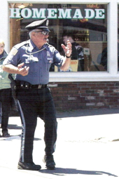 "Donald J. ""Dancing Cop"" Thomas. From the ""Donald 'The Dancin' Cop' Thomas"" Facebook page."