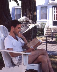 Scott Bane, 3 Prince Street, Provincetown (1995), by David W. Dunlap.