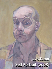 """Self Portrait,"" by Jack Zaner (2008)."