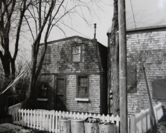44-48 Pearl Street, Provincetown (1976), by Josephine Del Deo. Massachusetts Historical Commission Inventory, 1973-1977: Provincetown's East End. Courtesy of the Provincetown Public Library.