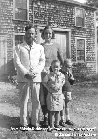 """44-48 Pearl Street, Provincetown (1937). From """"Edwin Dickinson in Provincetown, 1920-1937,"""" Provincetown Art Association and Museum (2007). Dickinson Family Archive."""