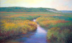 """""""The Moorlands,"""" by Lois Griffel. Provincetown Art Association and Museum."""