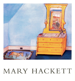 """Mary Hackett: A Survey,"" curated by Ann Wilson Lloyd. Provincetown Arts Press (1996)."