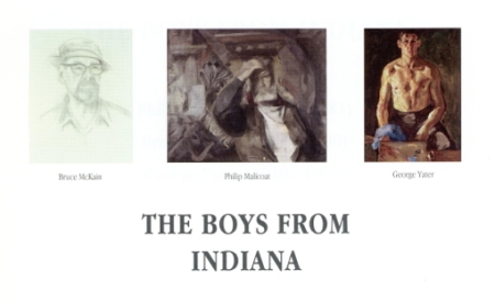 """""""The Boys From Indiana,"""" Provincetown Art Association and Museum (1999). Courtesy of the Provincetown Art Association and Museum."""