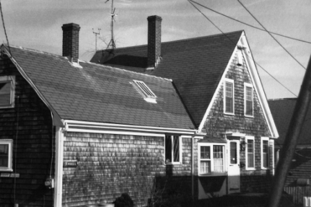 5 Soper Street, Provincetown (1976), by Josephine Del Deo. Massachusetts Historical Commission Inventory, 1973-1977: Provincetown's West End. Courtesy of the Provincetown Public Library.
