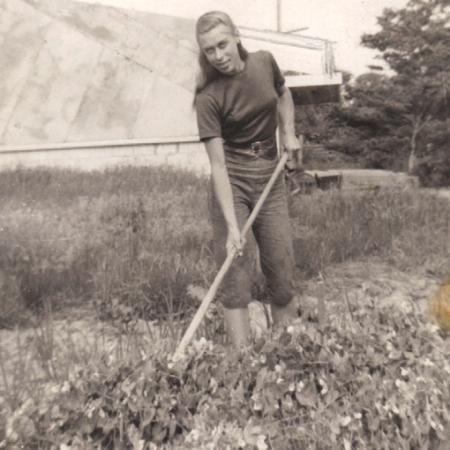 Jeanne Bultman, 8 Miller Hill Road, Provincetown (1947). Courtesy of Johann and Bethany Bultman.