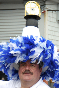 Timothy J. O'Connor as a Hat Sister, Provincetown (2010), by David W. Dunlap.