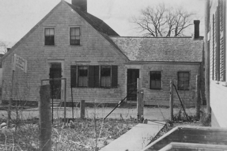 8 West Vine Street, Provincetown (1927). Courtesy of Col. Charles Westcott.