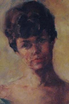 Carol Whorf Westcott, self-portrait, 8 West Vine Street, Provincetown (2011), by David W. Dunlap.
