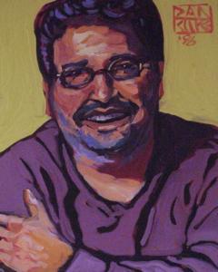 Portrait of Clem Silva by Dan Rupe, 85-87 Shank Painter Road, Provincetown (2008).