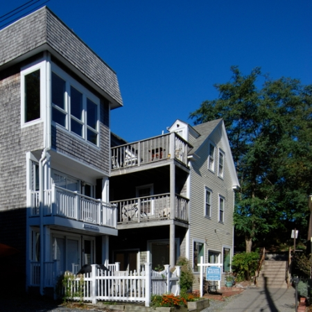 10 and 12 Masonic Place, Provincetown (2012), by David W. Dunlap.