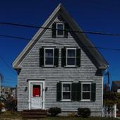 9 Johnson Street, Provincetown (2011), by David W. Dunlap.