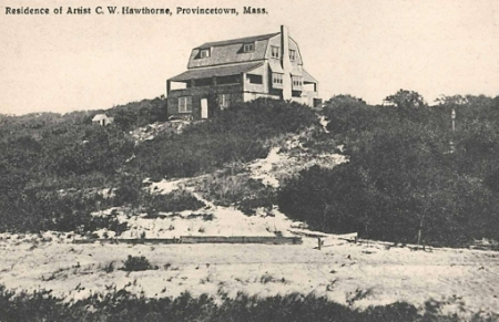 9 Miller Hill Road, Provincetown (±1927). Scrapbooks of Althea Boxell: Book 1, Page 29. Courtesy of the Provincetown History Preservation Project (Dowd Collection).