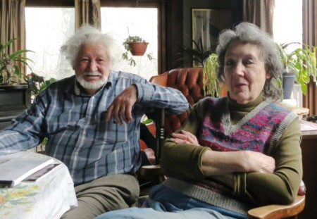 Sal and Josephine Del Deo at home, 31 Atkins-Mayo Road, by David W. Dunlap (2014).