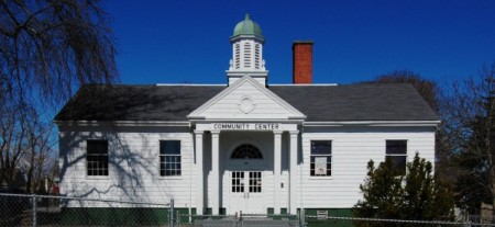 44 Bradford Street, Provincetown Community Center, by David W. Dunlap (2010).