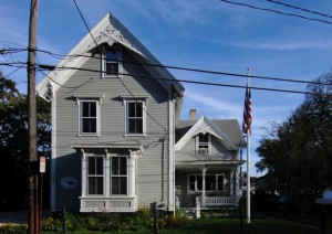 115 Bradford Street, Provincetown Center for Coastal Studies, by David W. Dunlap (2009).
