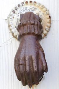 169 Bradford Street, hand of Fatima, by David W. Dunlap (2012).