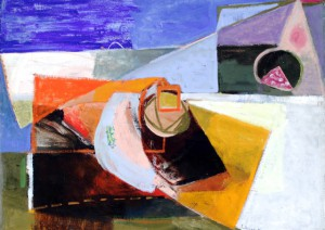 """Still Life (By the Sea),"" by Lillian Orlowsky, courtesy of the Provincetown Art Association and Museum."