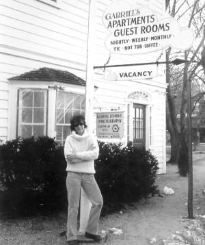 Elizabeth Gabriel Brooke, 104 Bradford Street, courtesy of Elizabeth Gabriel Brooke (ca 1979).
