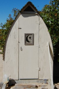 Malkin-Jackson outhouse, by David W. Dunlap (2009).