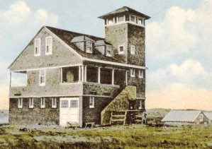 Peaked Hill Bars Coast Guard Station (1917), courtesy of the Provincetown History Preservation Project.