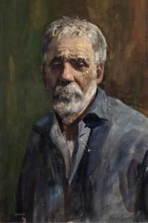 """Portrait of John Gaspa,"" by John Whorf. Courtesy of the Provincetown Art Association and Museum."