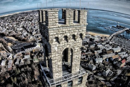 The Pilgrim Monument, by David A. Cox.